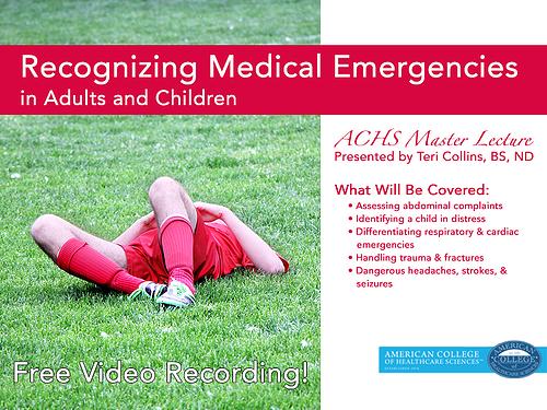 Recognizing Medical Emergencies