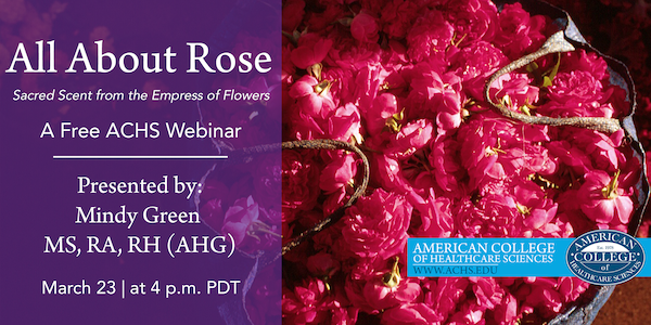 All About Rose Webinar ACHS Mindy Green