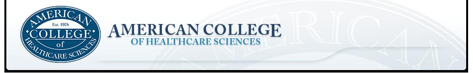 ACHS.edu